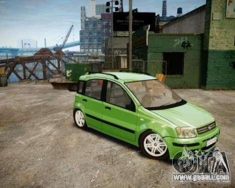 Fiat Panda 2004 v2.0 for GTA 4