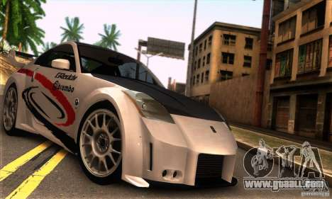 Nissan 350Z Tunable for GTA San Andreas right view