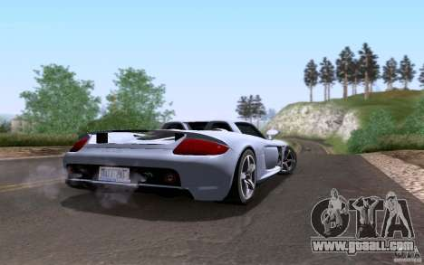 Porsche Carrera GT for GTA San Andreas engine