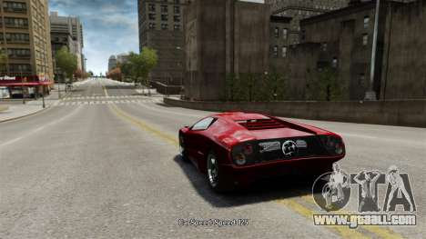Vehicle speed for GTA 4