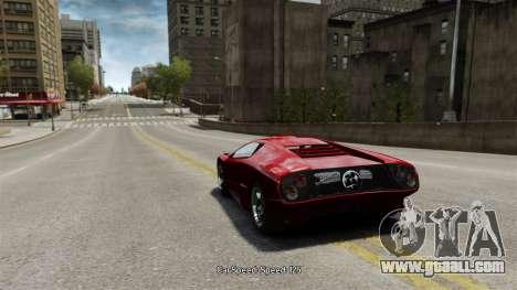 Vehicle speed for GTA 4 third screenshot