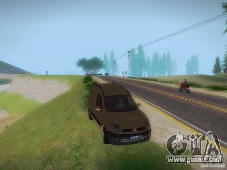 Renault Kangoo II Stock for GTA San Andreas right view