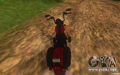 Motorcycle from Mercenaries 2 for GTA San Andreas left view