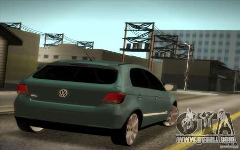 Volkswagen Golf G5 for GTA San Andreas back left view