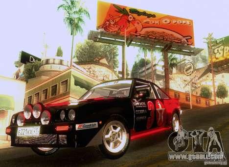 Opel Manta 400 for GTA San Andreas engine
