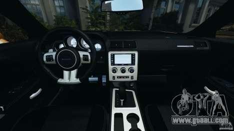 Dodge Challenger SRT8 392 2012 ACR [EPM] for GTA 4 back view