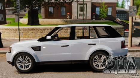Land Rover Range Rover Sport Supercharged 2010 for GTA 4 left view