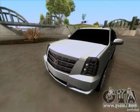 Cadillac Escalade ESV Platinum 2013 for GTA San Andreas side view