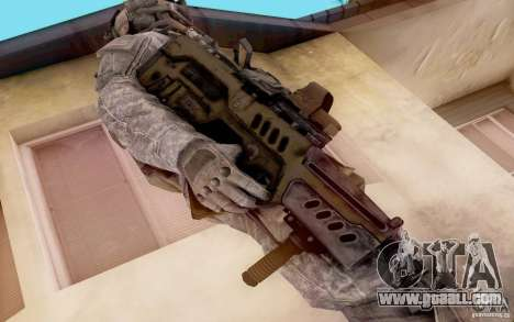 Tavor Ctar-21 from warface for GTA San Andreas
