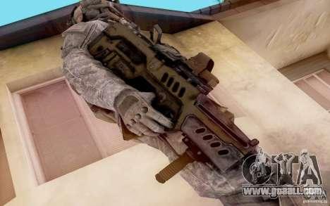 Tavor Ctar-21 from warface for GTA San Andreas second screenshot