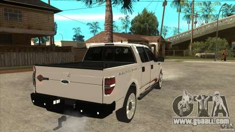 Ford F-150 Harley Davidson for GTA San Andreas right view