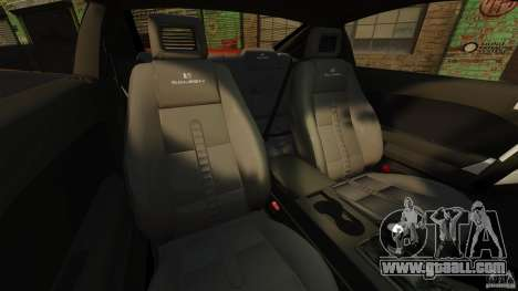 Saleen S281 Extreme v1.5 for GTA 4 inner view