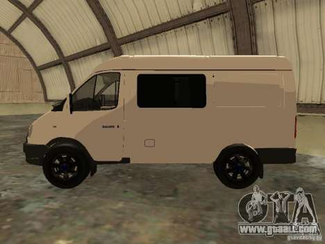 GAZ 2752 Sobol Business for GTA San Andreas left view