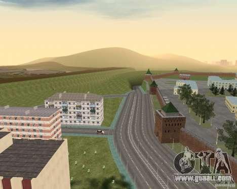 Nižegorodsk v0.1 BETA for GTA San Andreas