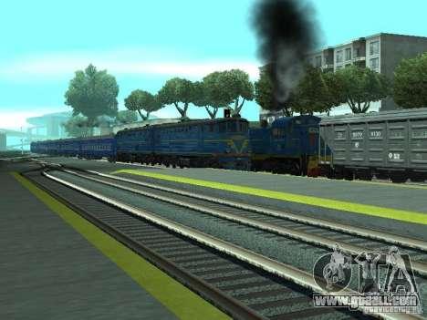 Te7-080 for GTA San Andreas back view