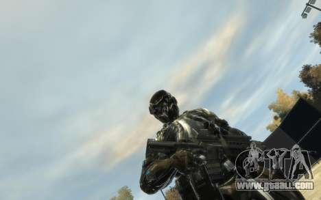 Crysis 3 The Hunter skin for GTA 4 second screenshot