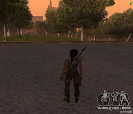 Skin Tomb Raider 2013 for GTA San Andreas third screenshot