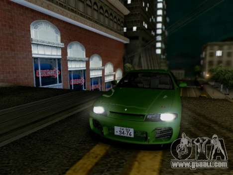 Nissan Skyline ECR33 for GTA San Andreas back left view