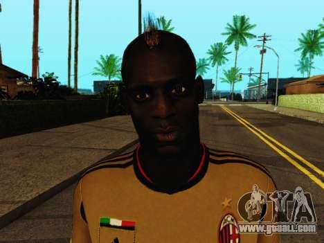 Mario Balotelli v3 for GTA San Andreas sixth screenshot