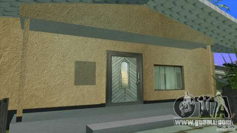 New textures House in Los Santos Denis for GTA San Andreas third screenshot
