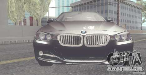 BMW 335i Coupe 2013 for GTA San Andreas left view