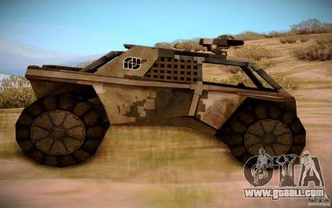 MK-15 Bandit for GTA San Andreas left view