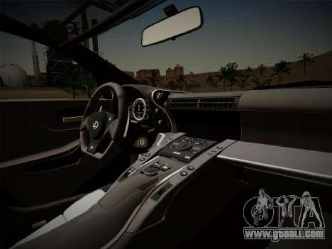 Lexus LFA Nürburgring Edition for GTA San Andreas side view