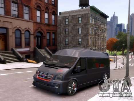 Ford Transit Sport Edition RV 2013 for GTA 4 inner view