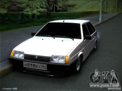 VAZ 2109 Rostov for GTA San Andreas