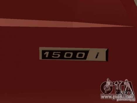 VAZ 2104 v. 2 for GTA San Andreas inner view