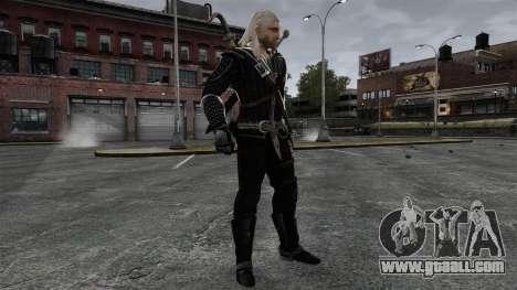 Geralt of Rivia v8 for GTA 4 fifth screenshot