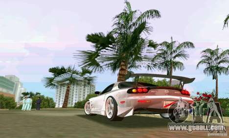 Mazda RX7 tuning for GTA Vice City right view