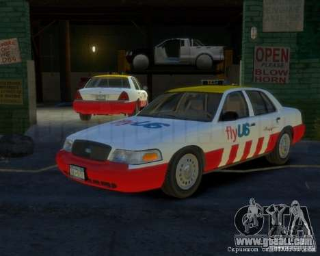 Ford Crown Victoria for FlyUS Car for GTA 4
