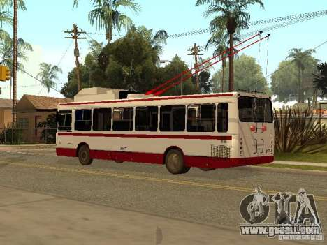 MTrZ 5279 for GTA San Andreas left view