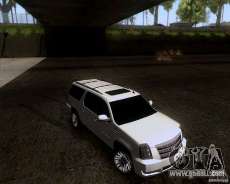 Cadillac Escalade ESV Platinum 2013 for GTA San Andreas