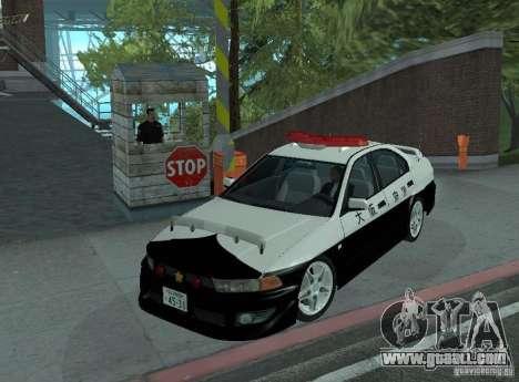 Mitsubishi Galant Police for GTA San Andreas