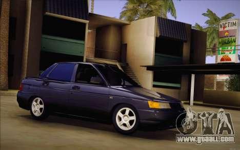 VAZ 2110 Drain for GTA San Andreas
