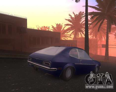 Ford Pinto 1973 Final for GTA San Andreas left view