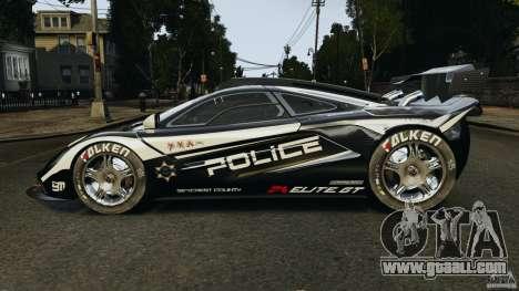 McLaren F1 ELITE Police for GTA 4 left view
