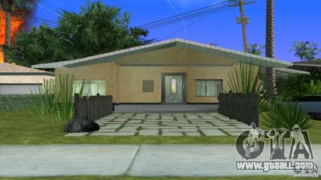 New textures House in Los Santos Denis for GTA San Andreas second screenshot
