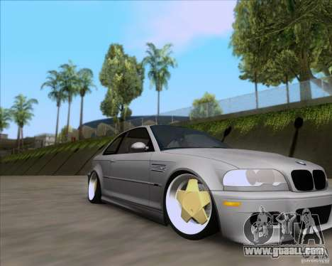 BMW 3-er E46 Dope for GTA San Andreas right view