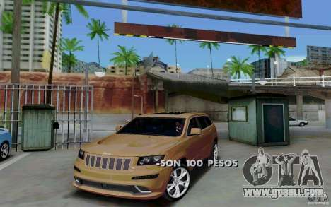 Parking (fee required) for GTA San Andreas