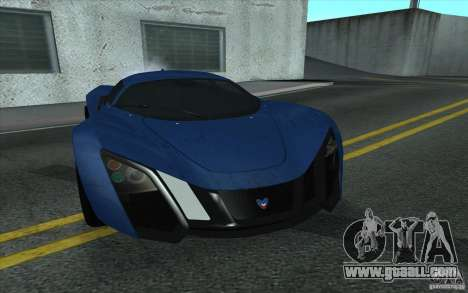 Marussia B2 2010 for GTA San Andreas left view