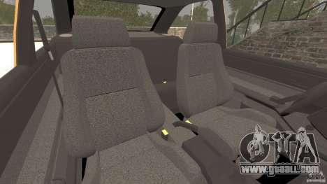 Ford Escort L 1994 Custom for GTA 4 inner view