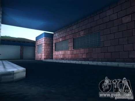New garage in San Fierro for GTA San Andreas third screenshot