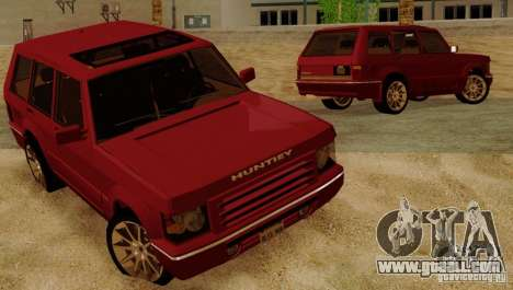 Huntley Freelander for GTA San Andreas side view