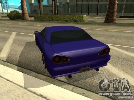 Elegy by W1nston4iK for GTA San Andreas left view