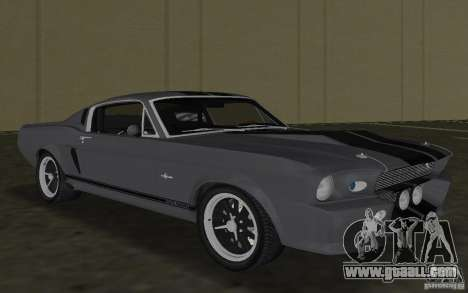 Shelby GT500 Eleanor for GTA Vice City left view