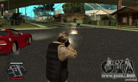 HUD for SAMP for GTA San Andreas third screenshot