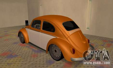 Volkswagen Beetle for GTA San Andreas right view